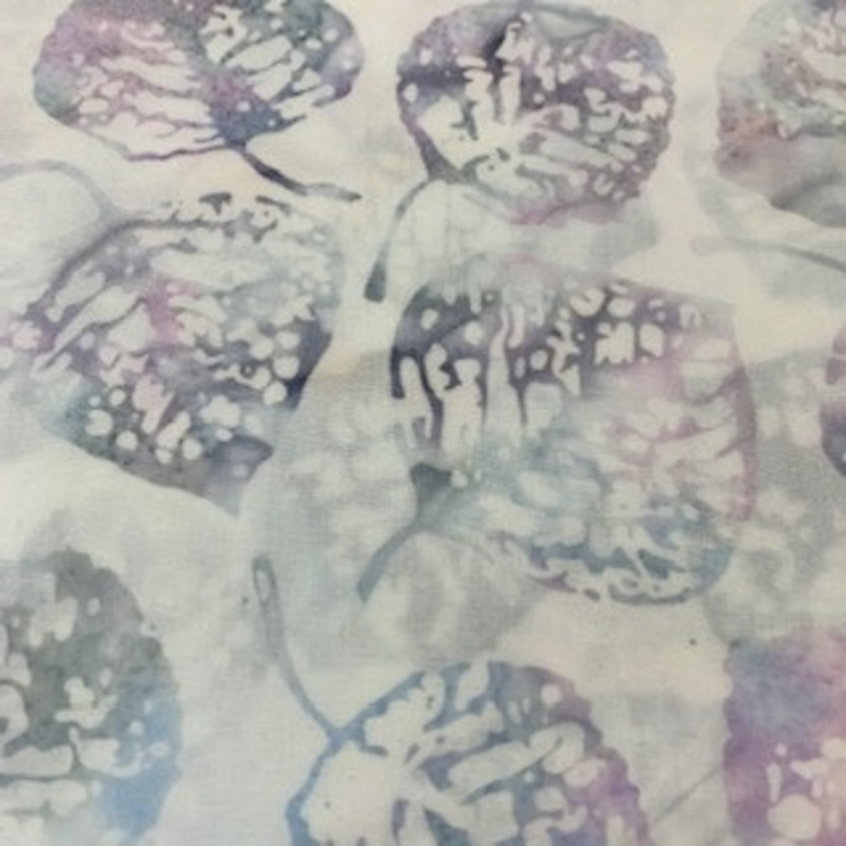 Hoffman Fabrics Bali Batik Leaves 2056 - Pastel