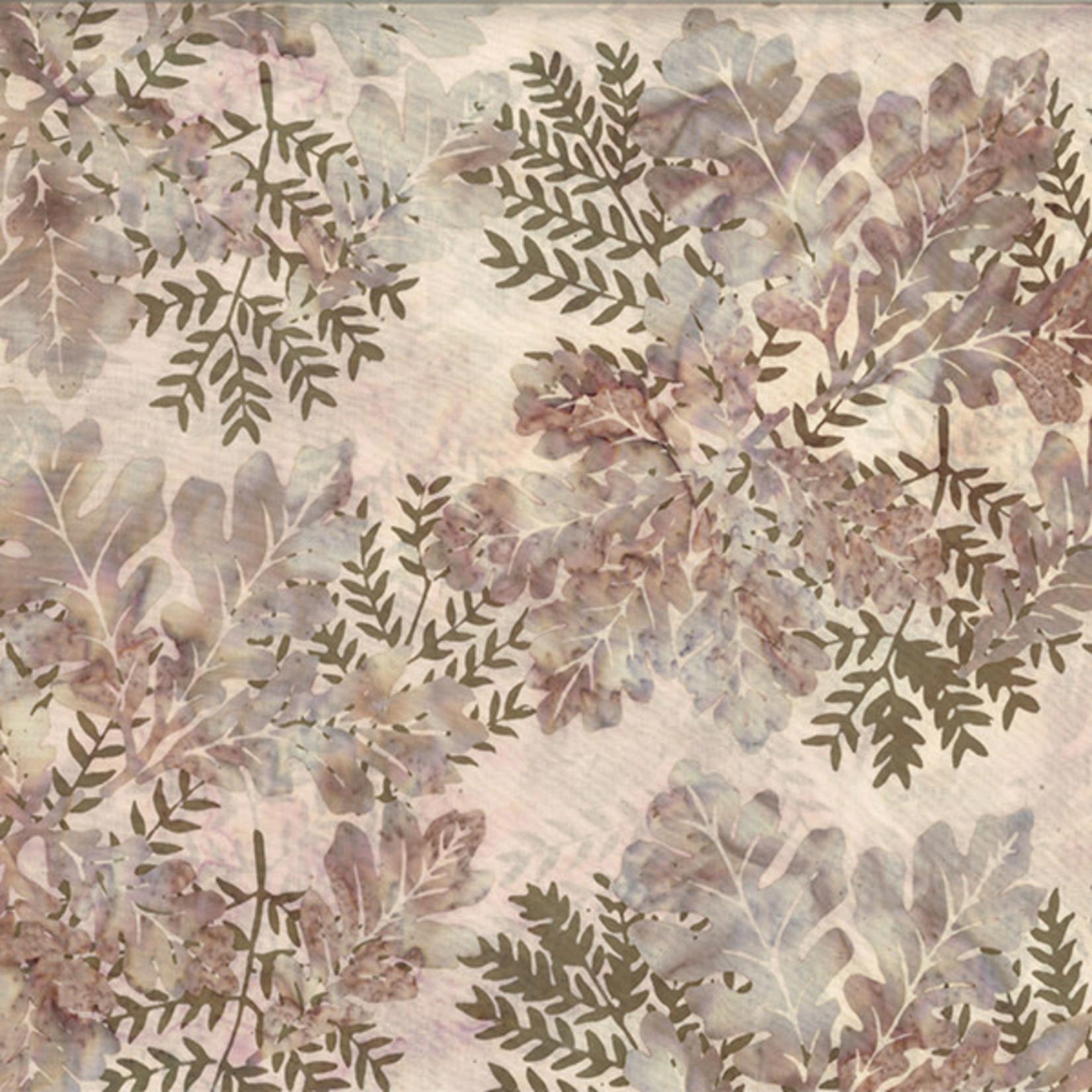 Hoffman Fabrics Bali Batik Oak Leaves 2232 - Forest