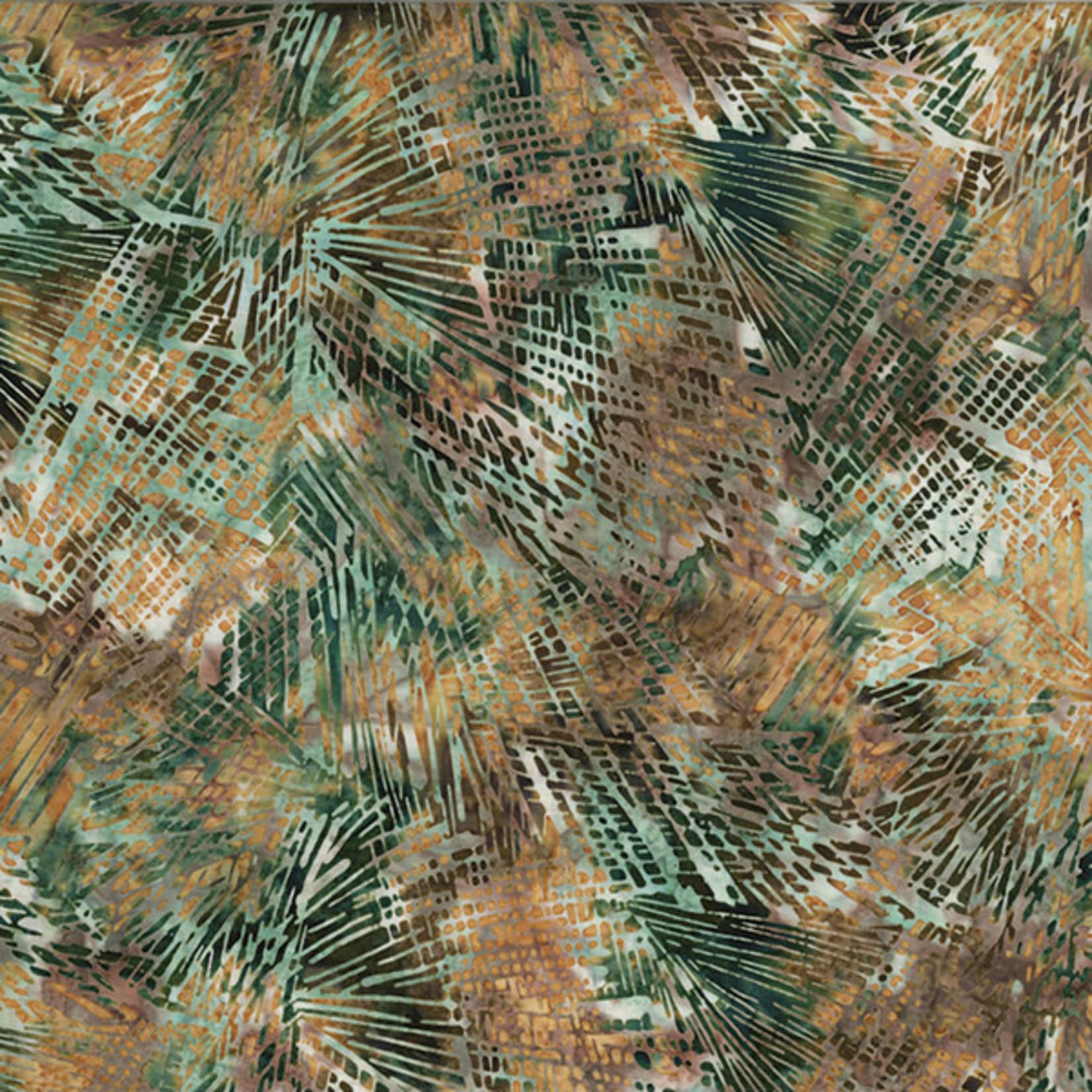 Hoffman Fabrics Bali Batik Shattered Glass - Rustica