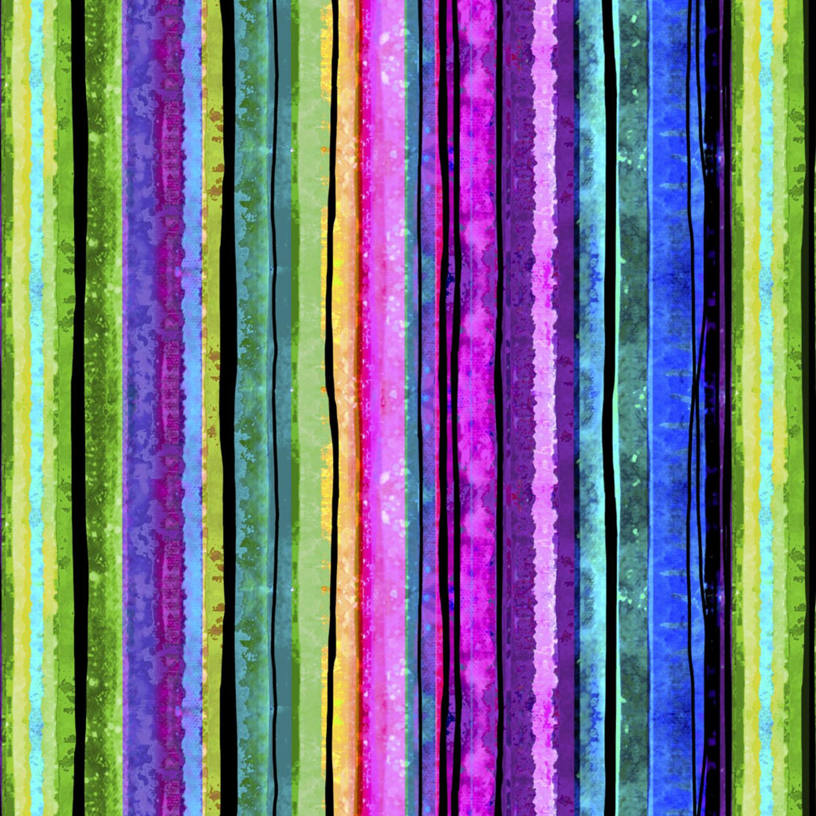 P&B Textiles Awakening - Stripes - Multi