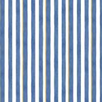 P&B Textiles Coastal Kitty - Strepen - Blue