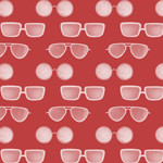P&B Textiles Coastal Kitty - Zonnebrillen - Red