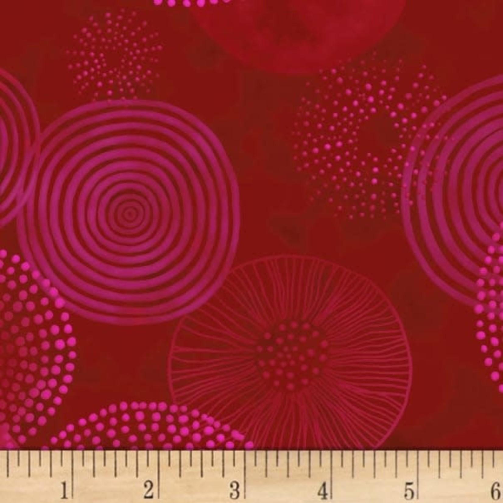 P&B Textiles Meridian - Disc - Red