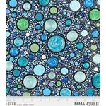 P&B Textiles Mindful Mandalas - Stones - Blue