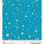 P&B Textiles Winter Lights - Blue