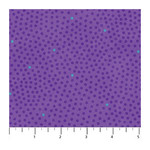 Northcott X's and O's - Small Dots - Wild Orchid