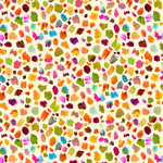 QT Fabrics In The Grove - Dots - Yellow