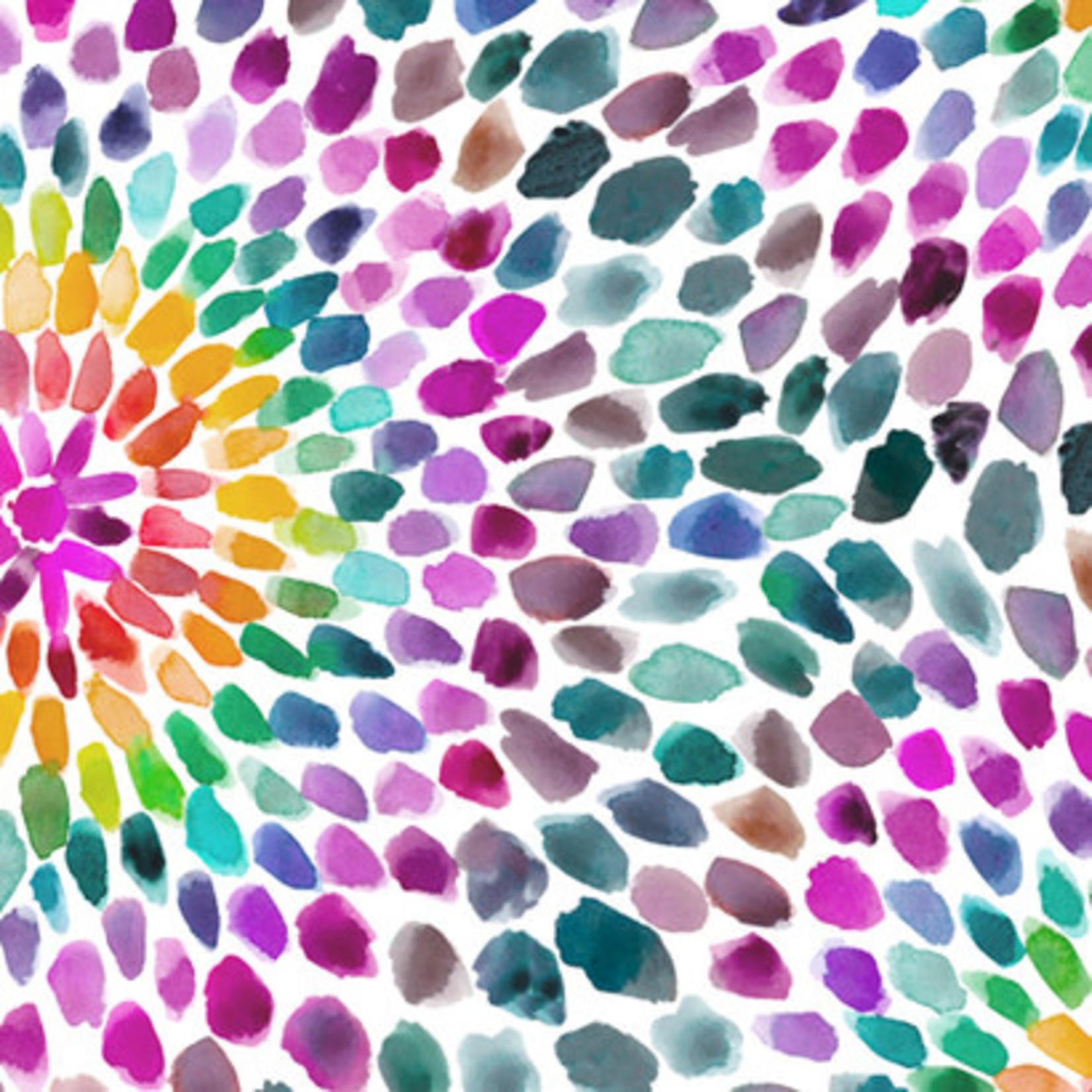 QT Fabrics In The Grove - Flower - Multi