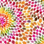 QT Fabrics In The Grove - Flower - Yellow