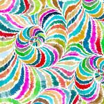 QT Fabrics In The Grove - Spiral - Multi