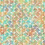 QT Fabrics Kashmir - Tiles - Cream