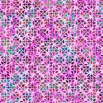 QT Fabrics Kashmir - Tiles - Purple