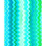 QT Fabrics Kenzie - Chevron - Turquoise