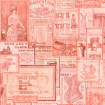 QT Fabrics Tailor Made - Vintage Patches - Pink