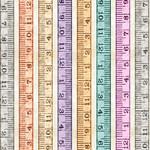 QT Fabrics Tailor Made - Tape Measures