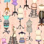 QT Fabrics Tailor Made - Dress Forms- Pink