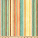 QT Fabrics Toyland - Stripes - Multi
