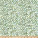 QT Fabrics Toyland - Wooden Blocks - Green