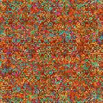 QT Fabrics Zanzibar - Texture - Orange