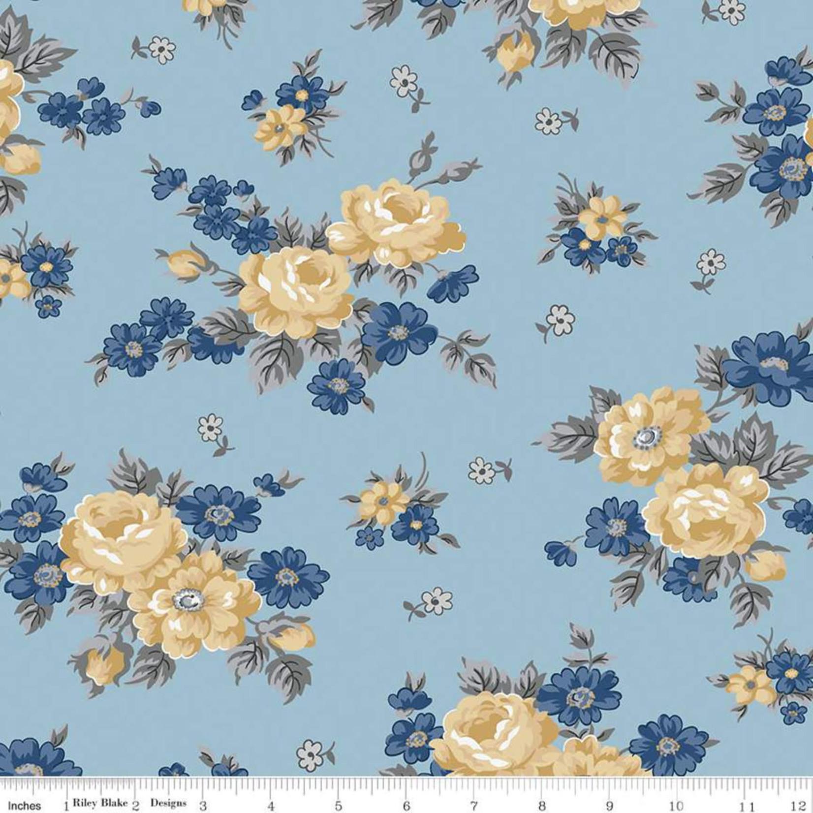 Riley Blake Designs Delightful - Main - Blue