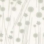 Basic Palette Bargains Tone on Tone - Floral - White/Gray