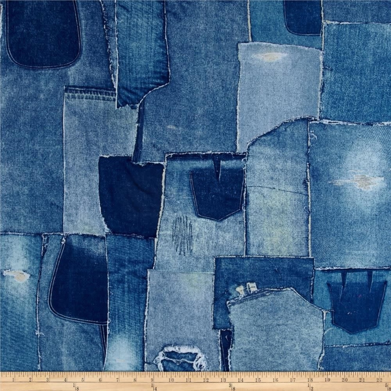 Windham Fabrics Limited Edition - Denim Patches
