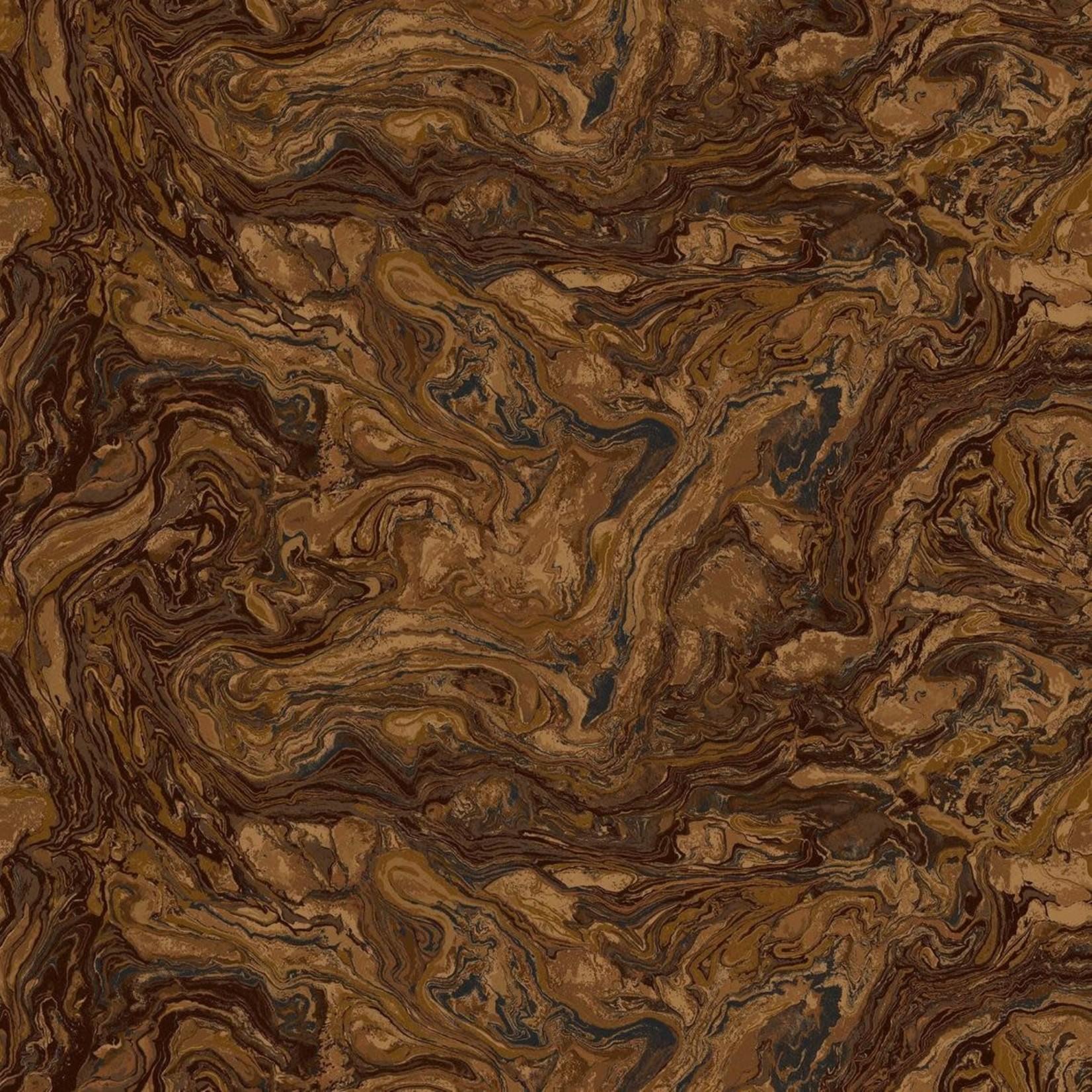 Fabri-Quilt Italian Marble - Tiger Eye