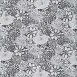 Wilmington Prints Essentials - Floral Toile - White/Black
