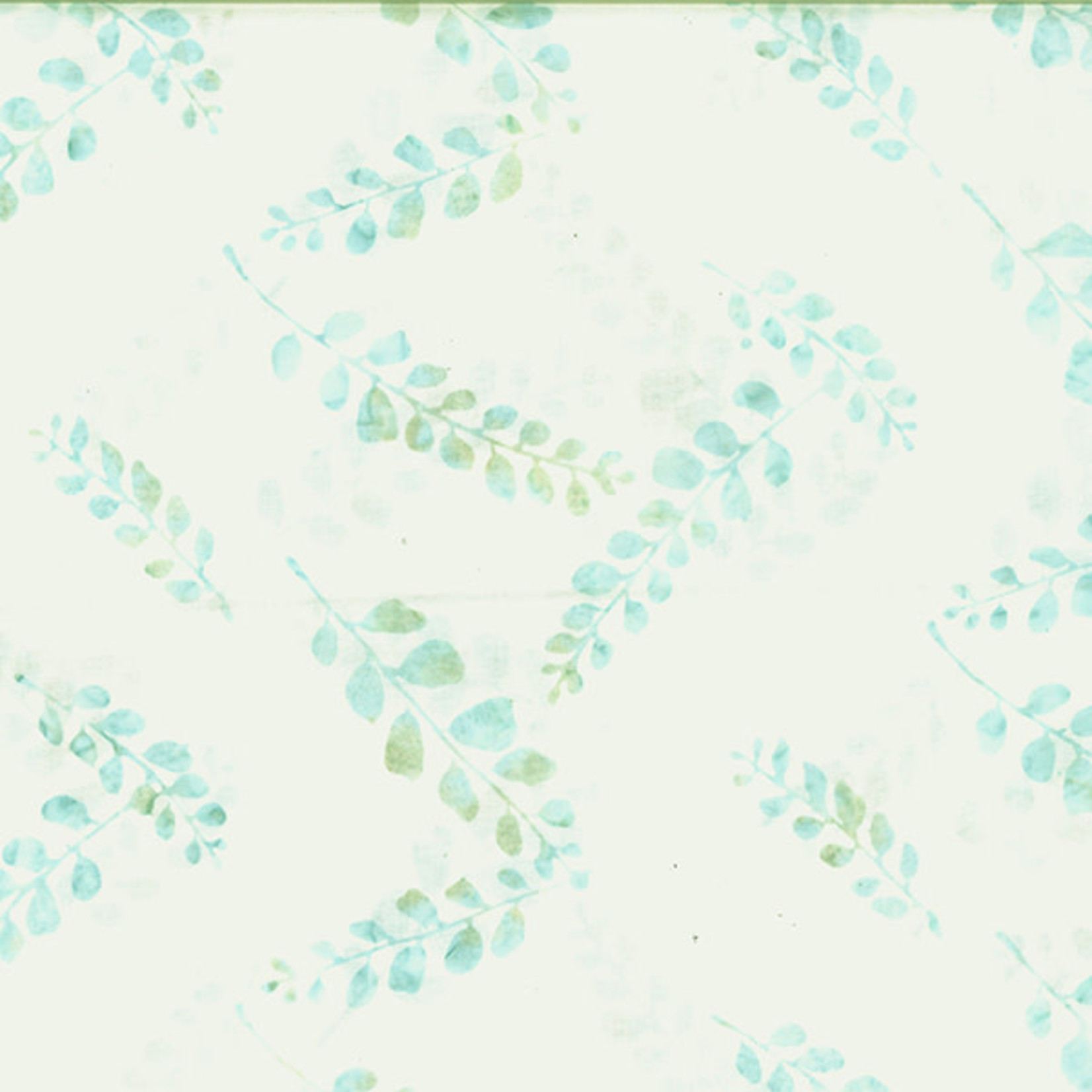 Hoffman Fabrics Bali Batik Graphic Flower - Snow