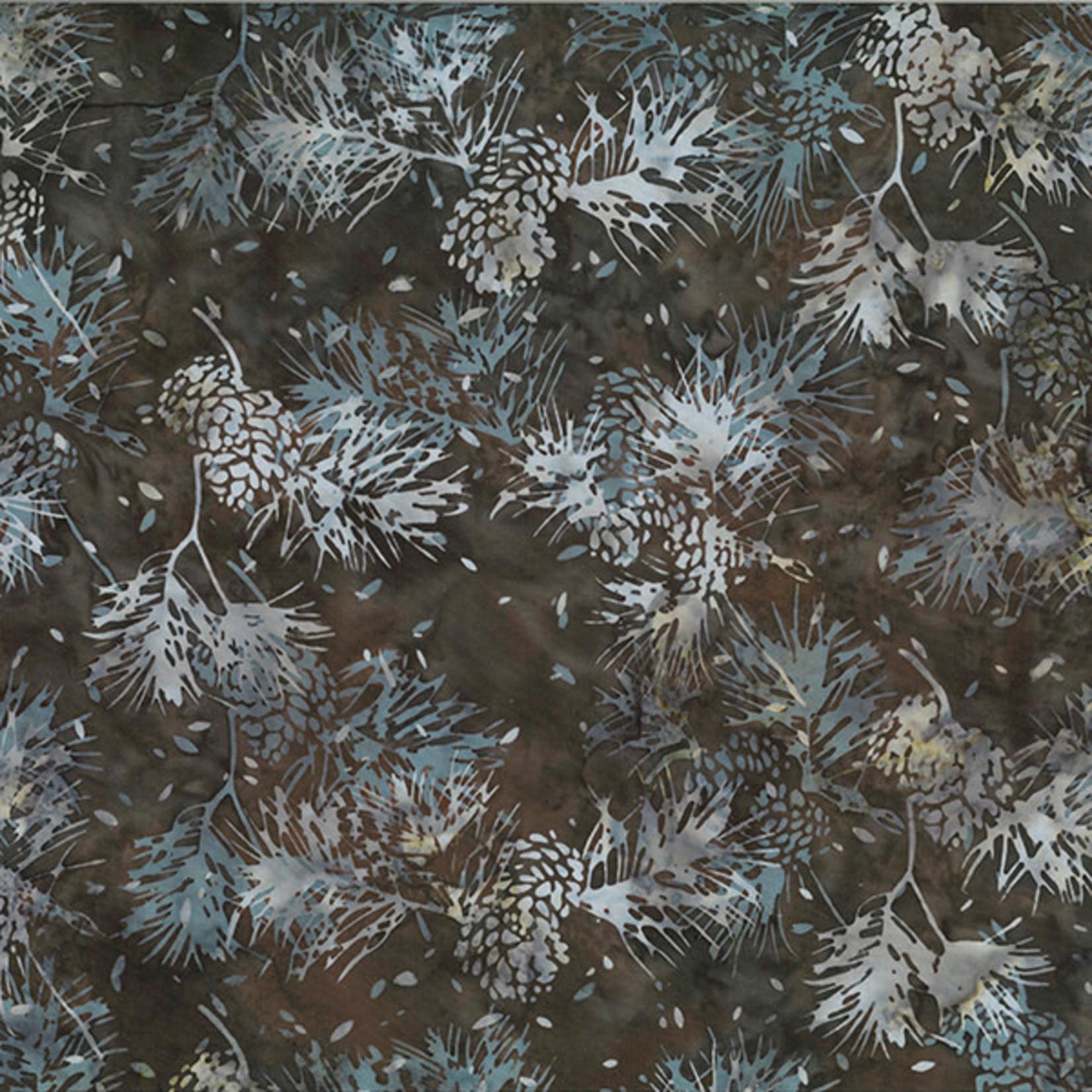 Hoffman Fabrics Bali Batik Pinecone - Walnut