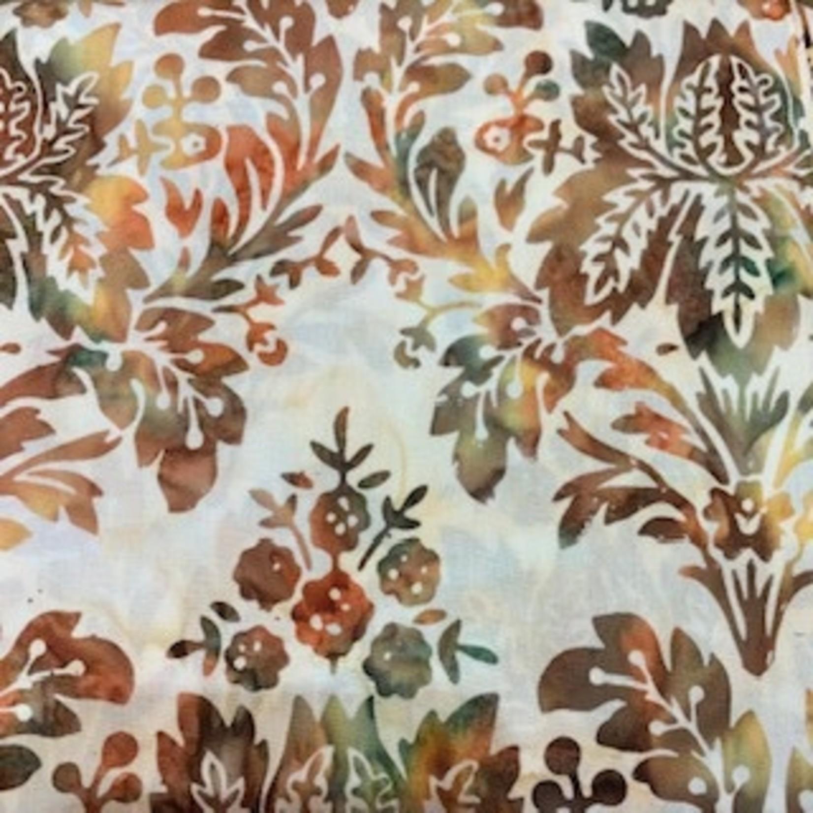 Hoffman Fabrics Bali Batik French Bouquet - Global Spice