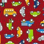 RJR Traffic Jam - Cars - Red