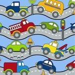 RJR Traffic Jam - Roads - Blue