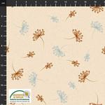 Stof Fabrics Birds On The Move - Cream