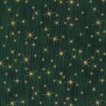 Stoffabrics Christmas Wonders - Falling Stars - Green Gold