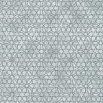 Stof Fabrics Christmas Wonders - Stars & Loops - Grey Silver