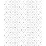 Stof Fabrics Magic Christmas - Diamonds - White