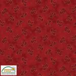 Stof Fabrics Magic Christmas - Holly - Red