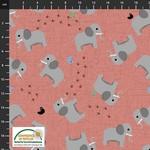 Stof Fabrics Coco's Wildlife - Elephant