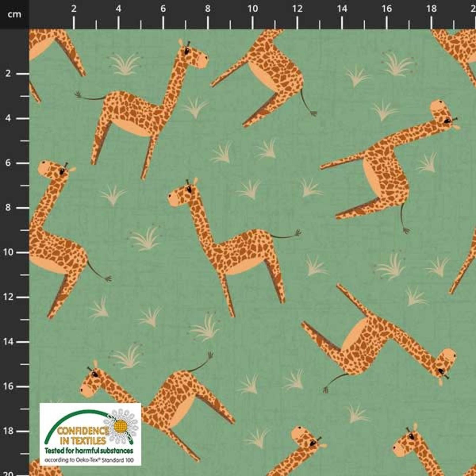 Stoffabrics Coco's Wildlife - Giraffe