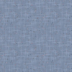 Stof Fabrics Hannah Basic - Scratches - Blue