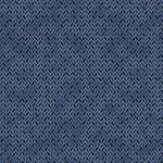 Stof Fabrics Hannah Basic - Geo - Dark Blue