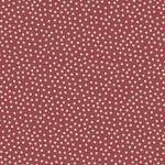 Stof Fabrics Hannah Basic - Dotted - Red
