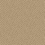Stof Fabrics Hannah Basic - Dotted - Taupe
