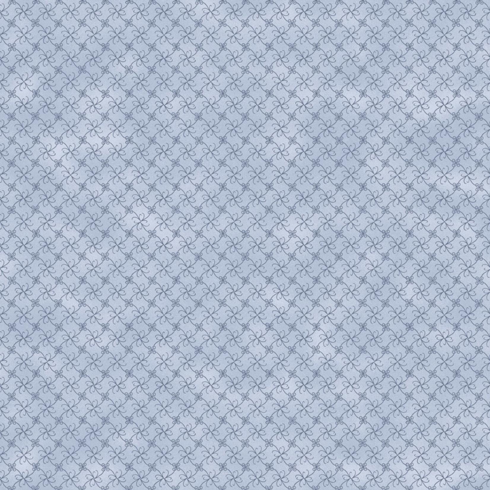 Stoffabrics Hannah Basic - Tiles - Grey