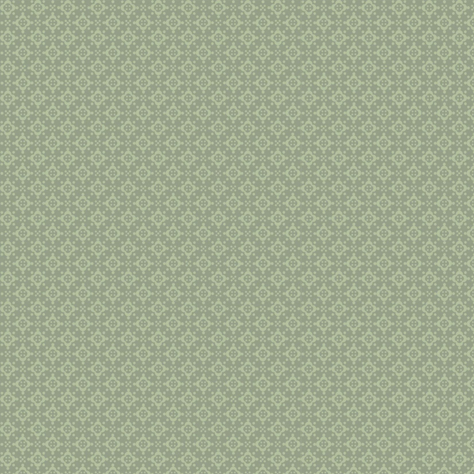 Stoffabrics Hannah Basic - Structure - Green