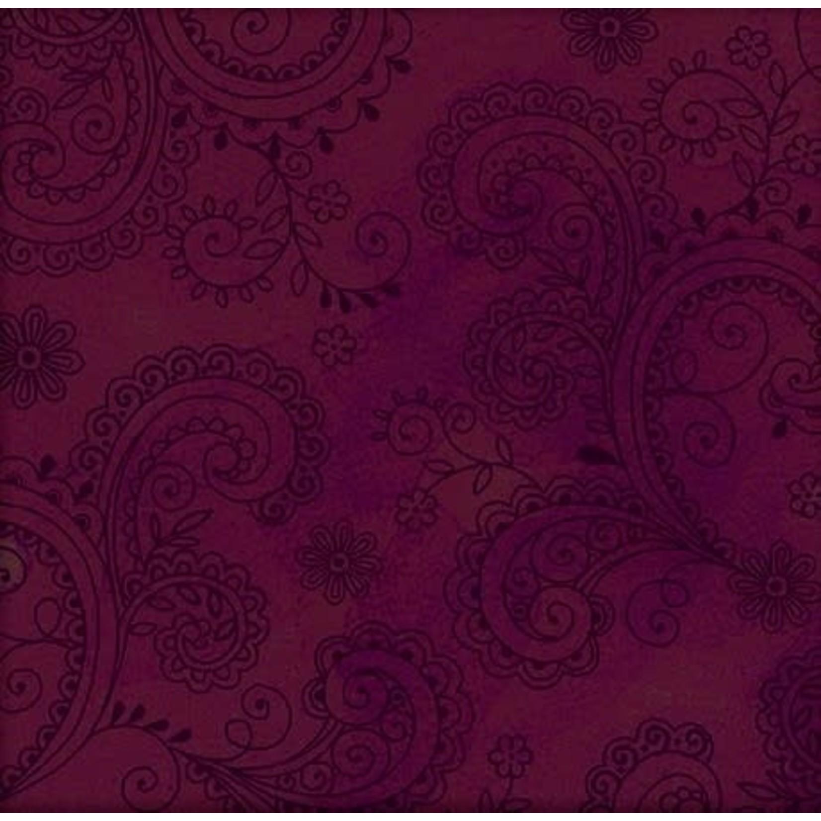 QT Fabrics Avalon - Paars