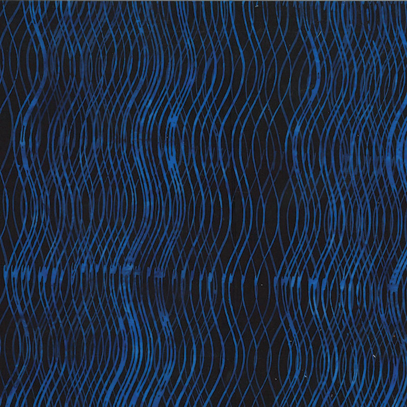 Hoffman Fabrics Bali Batik Wave - Midnight