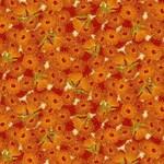 The Textile Pantry Under The Australian Sun - Flowering Gum - Orange/Multi