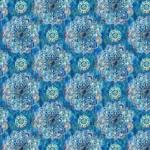 Wilmington Prints Bohemian Dreams - Mandalas - Blue